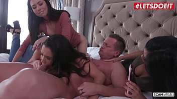 LETSDOEIT - Cheating Husband Gets Scammed By Horny Teens