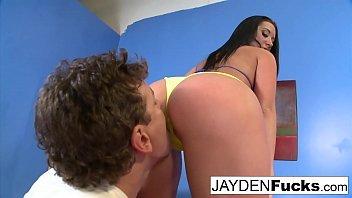 Sexy Big Tittied Jayden Jaymes gets fucked hard & deep!