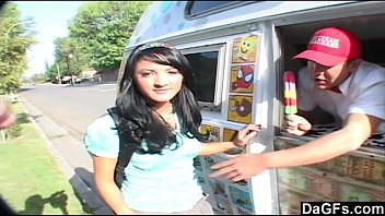 Main reason for sex Teen seduced and fucked by the icecream man
