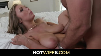 Wife Finds Out Hubby's Bestie Is Single Gets Permission To Fuck Him