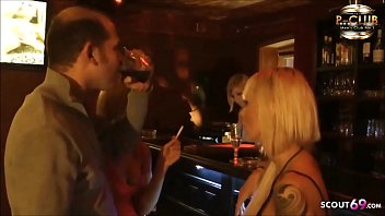 Client Fuck Two Real German Hooker in Threesome at Parlour