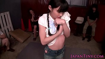 Little japanese ho squirting everywhere