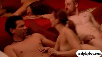 Yahoo rv swinger groups - Group of swingers swap partner and orgy in the red room