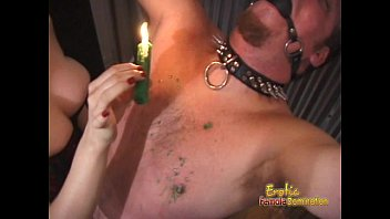 Horny stud gets bound and pleasured in numerous kinky ways thumbnail