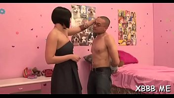 Filthy darling awards guy with sex