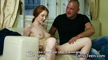 Redhead beauty Mila gets her viring pussy touched