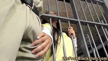 Cum filled ebony pussy Eyes black inmate cum