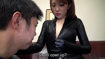 Foam latex makeup and contacts Subtitled japanese av star ai mizushima full body worship