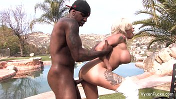 Chris steele breast exam Vyxen steel takes a big black cock
