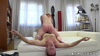 Rocco shocked by this amazing ass!