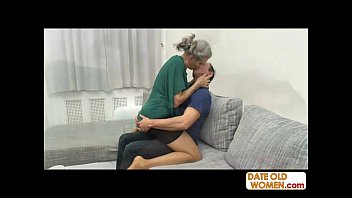 Grey hair old grandmother fucking [노인과 젊은여자 old and young]