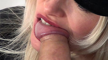 Biting a cock - Cock biting