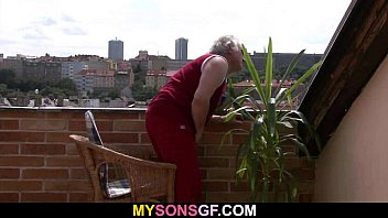 Horny Old Dad Bangs Son's Girlfriend