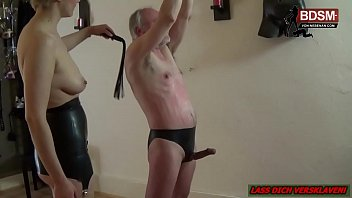 German mature cbt Deutsche amateur domina schlaegt sklaven rot - german fedom bdsm spankinig
