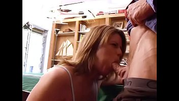 Fucking on a pool table Ripped sales guy gets his cock sucked and fucked by smoking hot babe on a pool table