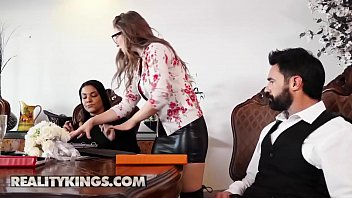 Sneaky Sex - (Charles Dera, Lena Paul) - Plowing The Wedding Planner - Reality Kings
