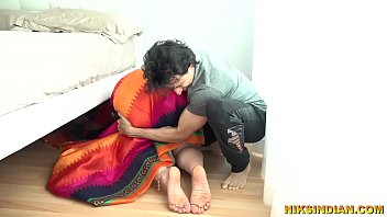 Indian mom fucked by step son