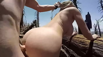 Fucking my GF outside in the forest ! Nice weather great fuck
