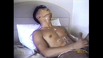 Hot asian cumshot