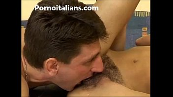 girl with the hairy pussy fingering and blowjobs between - porn italian