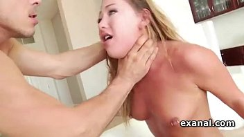Carter Cruise choked and double fucked