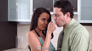 Passion-HD - Half naked cooking cutie Dillion Harper is fucked