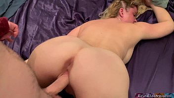 Perfect ass girlfriend fucked hard until she creams