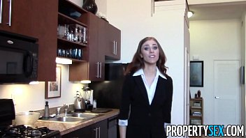 Propertysex - Cherry Picking Real Estate Agent Fucks Her Virgin Client