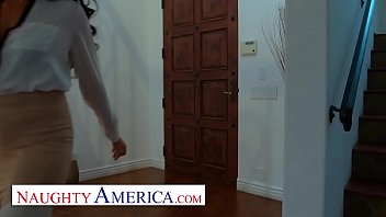 Naughty America - Texas Patti makes her sons friend give her anal