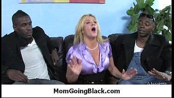 MILF mommy likes huge black cock 9