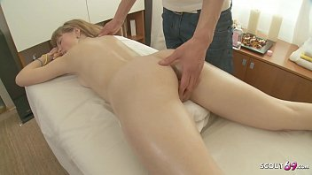 SKINNY GINGER TEEN SEDUCE FUCK AT MASSAGE PARLOUR MOM NEXT ROOM