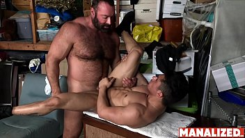 Brad altman gay Manalized petite latino armond rizzo hammered by daddy bear