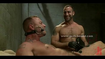 Gay sex in tight leather