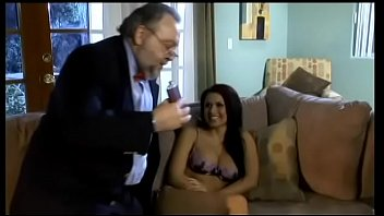 Aged bodacious writer tries to put a shine on a pile of bullshit of his new book charming young brunette Eva Angelina with whizzbang body