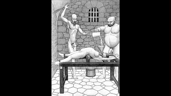Body builder women in bondage art Dungeon terrors brutal extreme bondage bdsm toons art