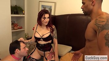 Amber Ivy and her cleaning bitch husband