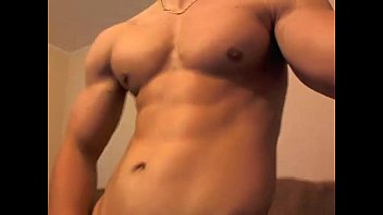 Brutus K Poses And Flexes Nude - more videos on HOTGUYCAMS.com