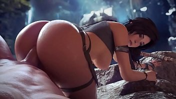 Raider kick ass Lara croft giant ass hentai