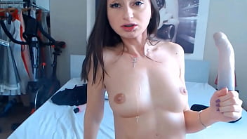 Incredibly brunette princess Victorya gets double toyed 13 min