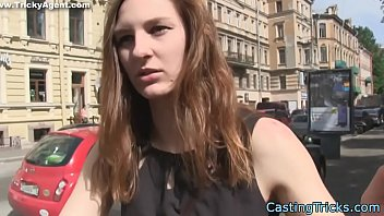 Casting euro beauty gets banged in pov