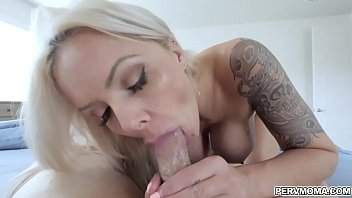 Step son doggystyle fuck milf Nina Elle from behind!