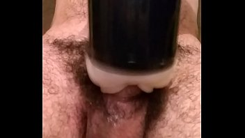 Fleshlight masturbation my hard dick