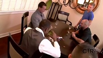 Gay black daddies fucking white sons Poker night with mr. harvey and his son
