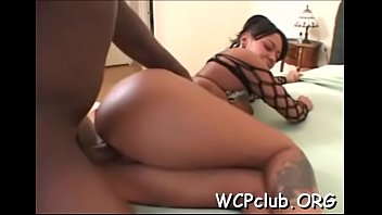 Naughty chick with great butt gets her anal gap screwed hard