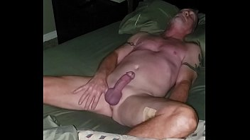 Early morning sex, jacking that stud.