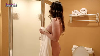 After Shower Sex With My Step Mom And I Cum On Her Face - Amiee Cambridge