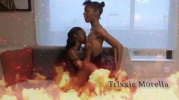 Threesome with Sisters Uniquee Umami and Trixxie Morella Throats and Pussies Punished By Pervert Twitter @BreakHerin