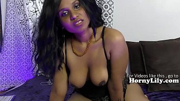 Hot Indian girl humiliating sissy boys JOI POV in Hindi
