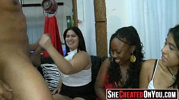 15 Cheating wives caught cock sucking at party17