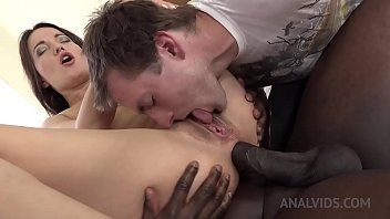 Kinky Black cuckold sex with Roxy Dee KS068